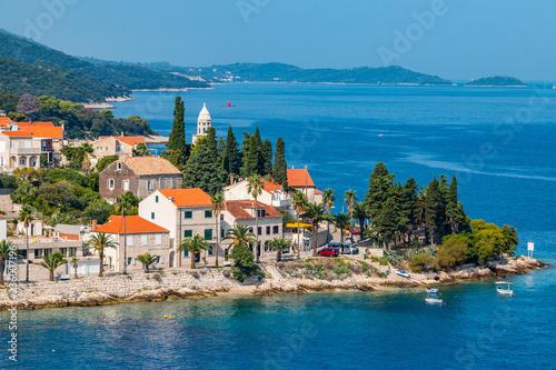 Ein Besuch auf Korcula in Kroatien Canvas-taulu