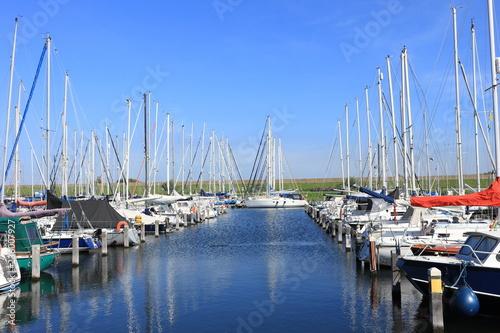 Jachthafen in Scharendijke