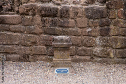 Photo  Altar to Nemesis at the Roman Amphitheatre in Chester