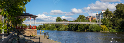 River Dee in Chester Fotobehang