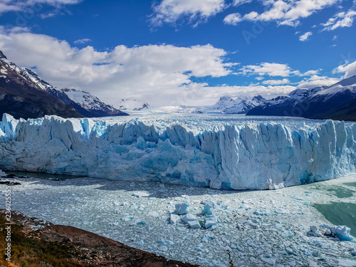 Printed kitchen splashbacks Glaciers Scenic views of Glaciar Perito Moreno, El Calafate, Argentina