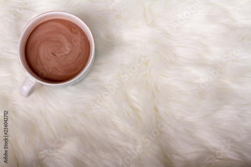 Fotografie, Obraz  A mug of hot chocolate or cocoa