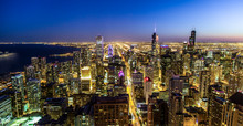Chicago Skyline, Nightlife, Su...