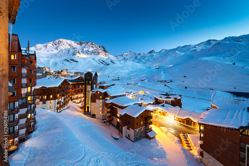 Photo  Val Thorens in France