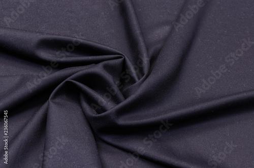 Wool suit, black Fototapet
