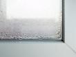 canvas print picture - Kondenswasser am Fenster