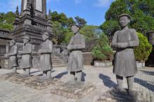 Vietnam, Hue, Tomb Of Emperor Khai Dinh In Hue, Vietnam.