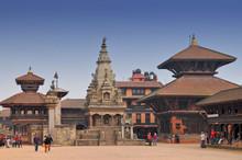 Durbar Square In Bhaktapur, Ne...