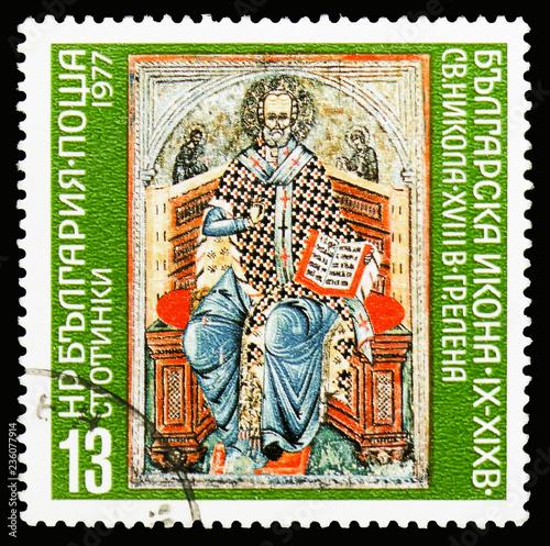 Fotografía  Saint Nicholas (18th Century), Elena, 1000 Years Bulgarian Icons (IX-XIX cent