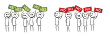 People With Opinions Yes And No