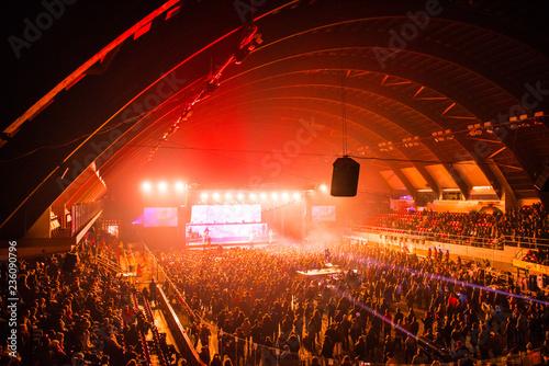 Fotodibond 3D Kryty festiwal muzyczny