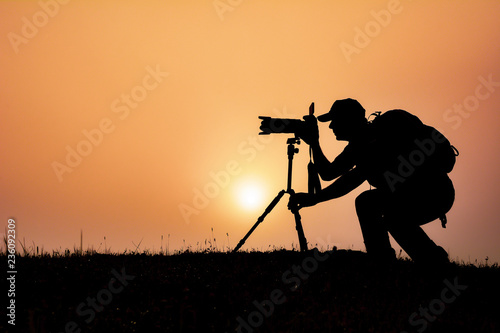 Photo  Professional photography and work time