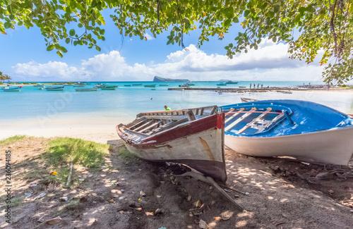 Mouillage de Coin de Mire, île Maurice