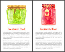 Preserved Food Poster Lime Lemon And Strawberries