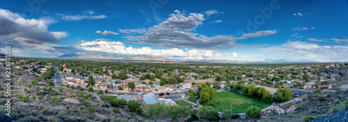 Pano above Albuquerque, NM Canvas Print