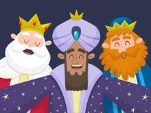 The Three Kings Taking A Selfie