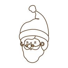 Head Santa Claus Avatar Character