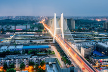 Night View Of The Peace Bridge...