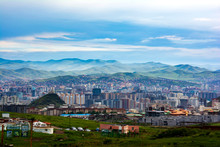 Landscape Of Ulaanbaatar City,...