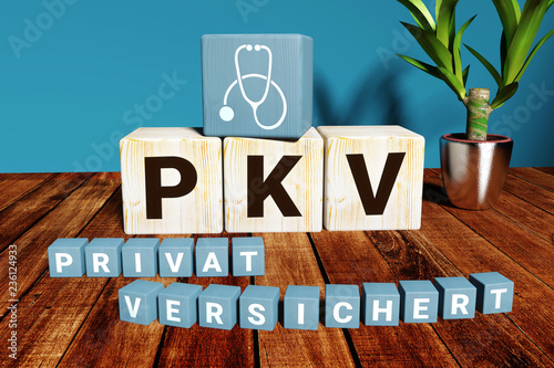 Privat versichert in der Privaten Krankenversicherung (PKV) Wallpaper Mural