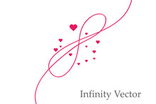 Sign Of Infinity And Hearts Ic...