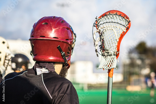 Canvastavla  Lacrosse themed photo, American Sports.