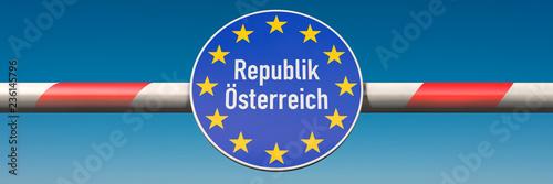 Fotografía  Grenze Österreich