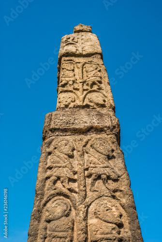 Saxon Stone Monument Canvas Print