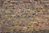 Fototapeta Do przedpokoju - Brick wall texture background