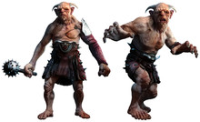 Trolls , Ogres Or Giants 3D Il...