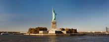 Panorama Of Island Of Liberty ...