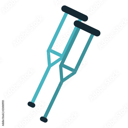 Photo Handicap crutches symbol