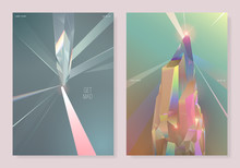 2 Type Pastel Crystal Poster D...