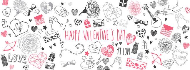 Valentines day doodles back...