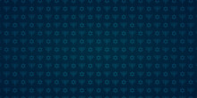 Blue Seamless Pattern With Tra...