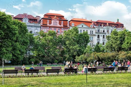 plakat Prag, Vinohrady