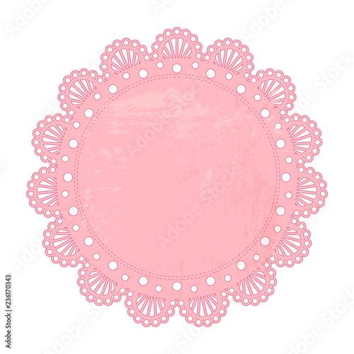 Valokuva  pink napkin