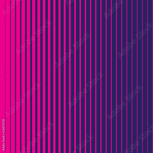 Foto Diagonal striped parallel pink lines vector pattern texture on the blue background