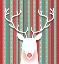 Reindeer Minimalist Christmas ...