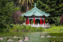 The Chinese Pavilion On The Sh...