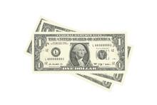 Stack Of One-dollar Bills. Vector Illustration