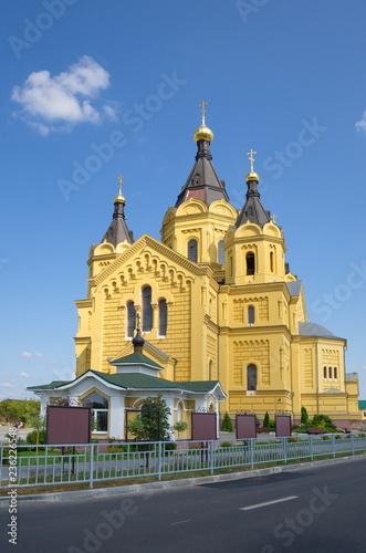 Fotografie, Obraz  Alexander Nevsky Cathedral in Nizhny Novgorod on a summer day, Russia
