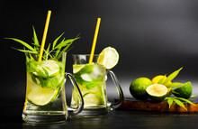 Lime Cocktail With Marijuana I...