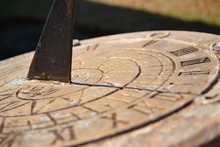 Close Up Of A Sundial
