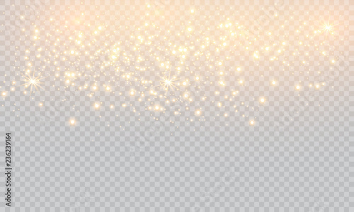 Fotografia  Vector illustration of abstract flare light rays