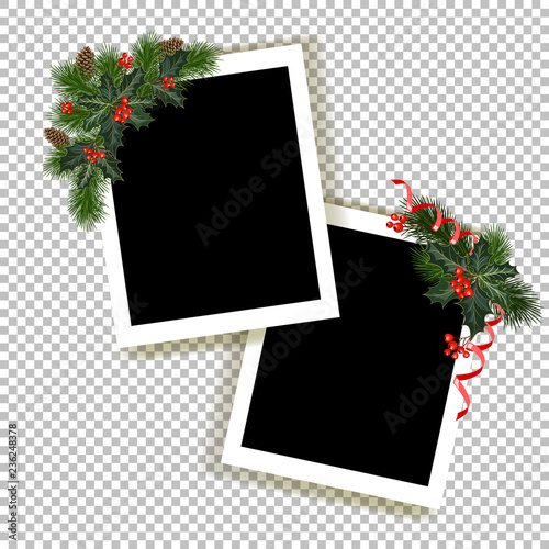 Obraz Christmas photo frame - fototapety do salonu