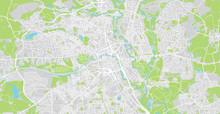 Urban Vector City Map Of Bolto...
