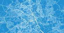 Urban Vector City Map Of Bolto...