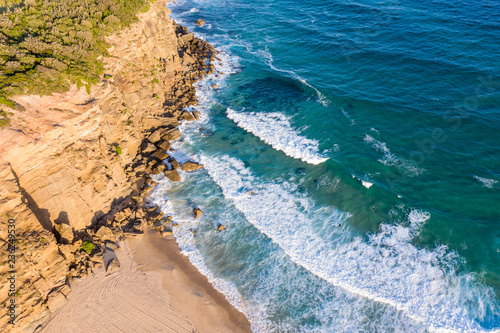 Fotobehang Oceanië Redhead Beach - Newcastle Australia. Aerial view of one of Newcastle's best beaches south of the city centre.