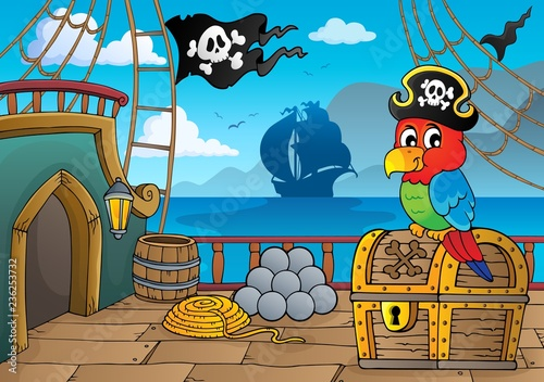 Pirate ship deck thematics 2